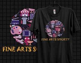 #28 для Fine Arts Society T-shirt Design от johnsabuz