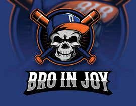 #61 untuk Logo for Gaming / Streamer - Skeleton, Logo, Baseball Bat, Rocker, Sons of Anarchy like oleh khshovon99