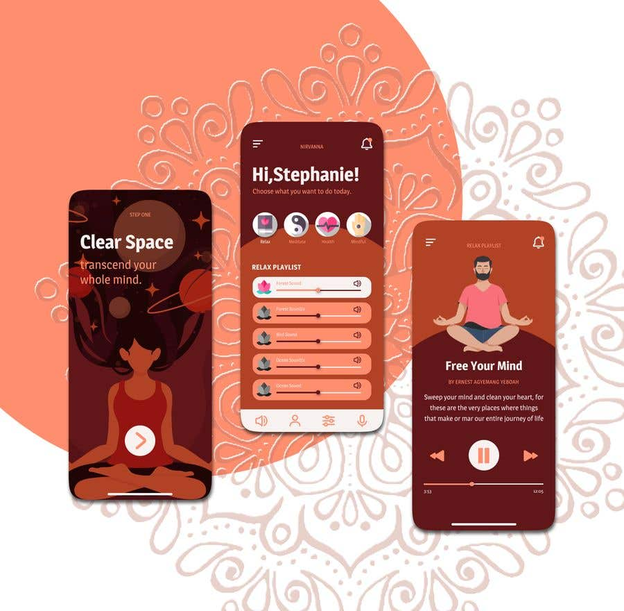 Contest Entry #                                        10                                      for                                         Meditation App