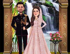 #49 untuk Wedding Card Illustration oleh Nikkonmd2