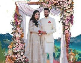 #50 untuk Wedding Card Illustration oleh suzanali5