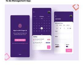 #37 for Finance Dashboard Single Page Mockup Design and Color Palette af Mahannani94