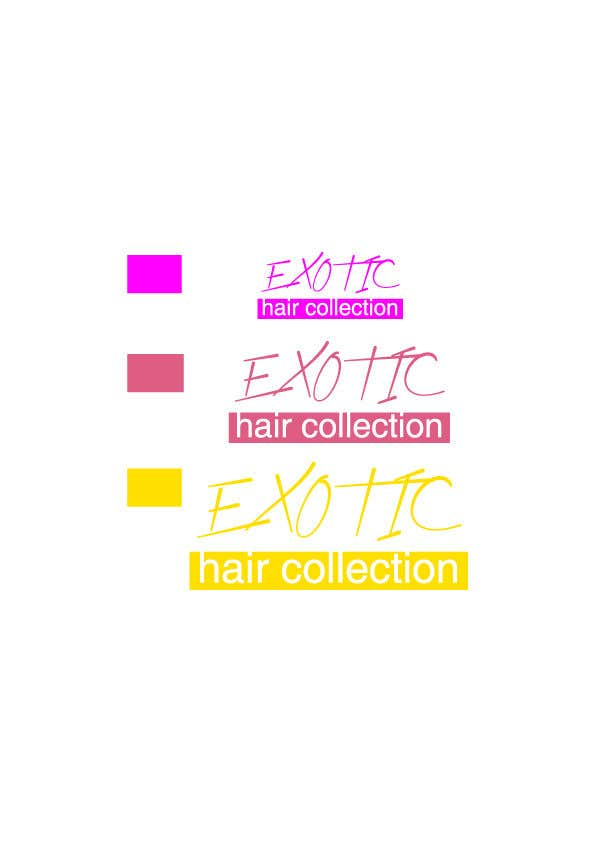 Contest Entry #                                        40                                      for                                         Create a logo for a hair extension company