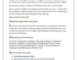 Nro 28 kilpailuun Write blog content for given topics käyttäjältä Selva7502