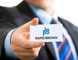 "#172 untuk Require a Logo for our new brand "" Rapid Brown "" oleh salmaajter38"