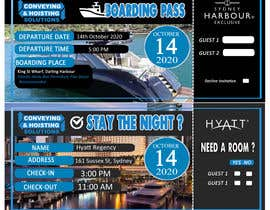 boyetplatio tarafından Invitation to Exclusive Event - Boarding Pass Style için no 36