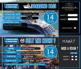 Invitation to Exclusive Event - Boarding Pass Style için Graphic Design40 No.lu Yarışma Girdisi