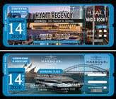Invitation to Exclusive Event - Boarding Pass Style için Graphic Design66 No.lu Yarışma Girdisi