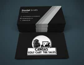 #49 for LOGO/Business card design for Golf Cart Tires sales business. af sadmanshakib9