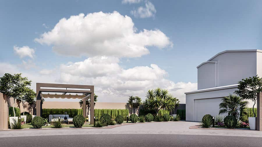 Penyertaan Peraduan #                                        15                                      untuk                                         3D landscape yard design