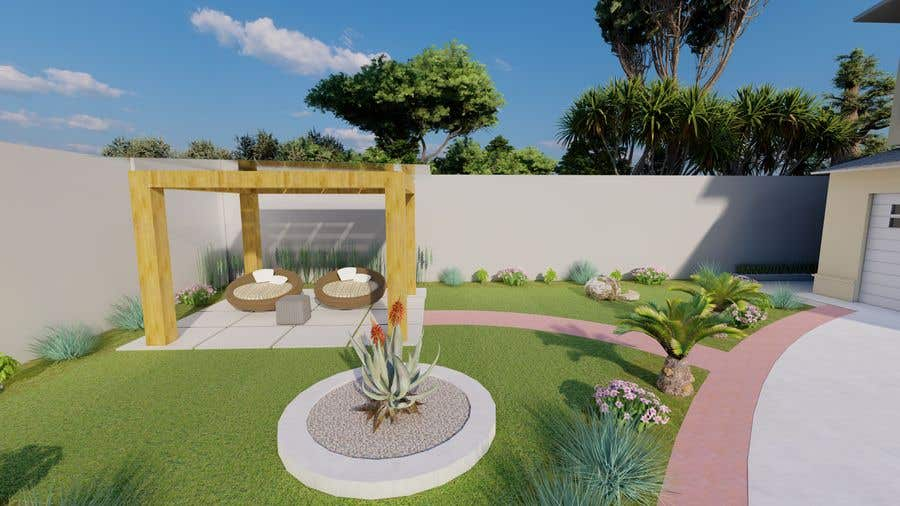 Penyertaan Peraduan #                                        34                                      untuk                                         3D landscape yard design