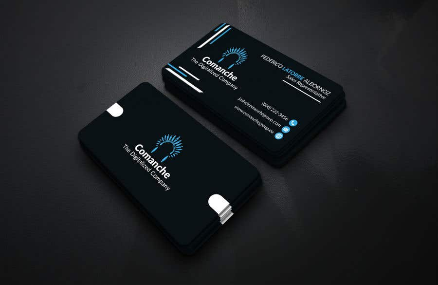 Contest Entry #                                        111                                      for                                         Awesome, professional Business card