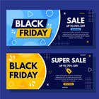 Logo Design Contest Entry #4 for Create 3 banner for: black friday, Stock and offers