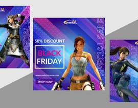 #71 for Create 3 banner for: black friday, Stock and offers by asifarifeen