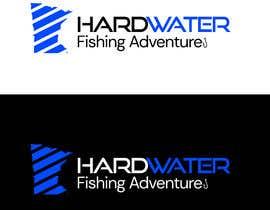 #142 untuk Create a Logo for HardWater Fishing Adventures oleh khusssh