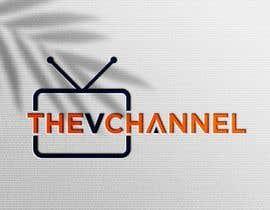 #21 для Design Logo for Vietnamese TV Channel! - theVchannel от deductivedesign1