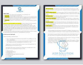 #76 for Create a pdf flyer by abrarcp