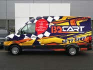 Graphic Design Contest Entry #135 for Design a RACING STYLE wrap for our new VW Crafter van