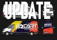 Graphic Design Contest Entry #106 for Design a RACING STYLE wrap for our new VW Crafter van