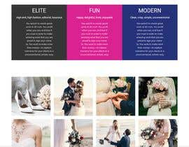#38 untuk Wedding Photography Website Design oleh jahangir505
