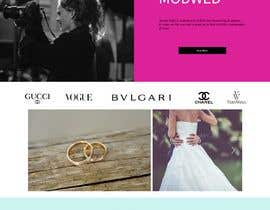 #32 untuk Wedding Photography Website Design oleh DLaura2000