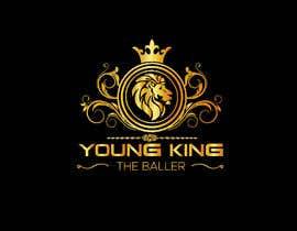 """#186 untuk Logo for """"Young King the Baller"""" oleh ndrobiulislam194"""
