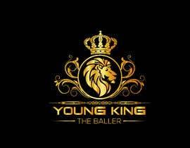 """#213 untuk Logo for """"Young King the Baller"""" oleh ndrobiulislam194"""