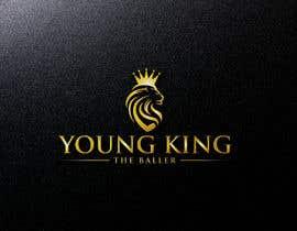 """#250 untuk Logo for """"Young King the Baller"""" oleh mazharul479m"""