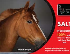 nº 46 pour Design a label for horse salt par GhaithArt