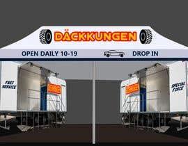 #11 for Design mobile tire station by Katnaabhi