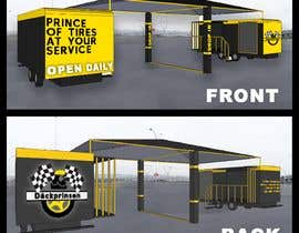 #15 for Design mobile tire station by cammile30