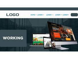 #44 for Web design for single page website by AbodySamy