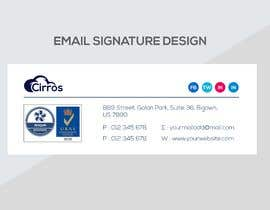 #86 for Create us a clean and modern dynamic email signature by ronyalinn