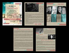 #38 for PRESS PACK PDF BROCHURE DESIGN - STEALING CHAPLIN MOVIE by ananna2906