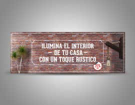 #141 untuk Banner Rustic oleh migueldaconceica