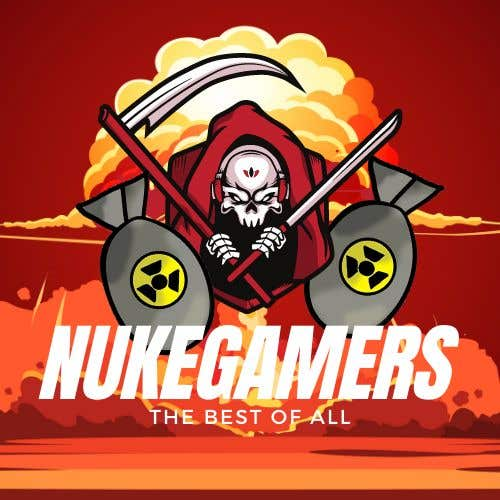 "Penyertaan Peraduan #                                        8                                      untuk                                         I need an graphic design for an GamingClan image, the Clan Name is Called: ""NukeGamers"