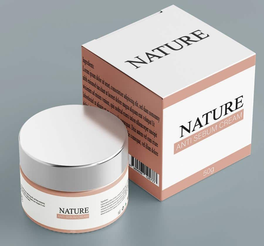 Contest Entry #                                        66                                      for                                         Label for a cosmetic product