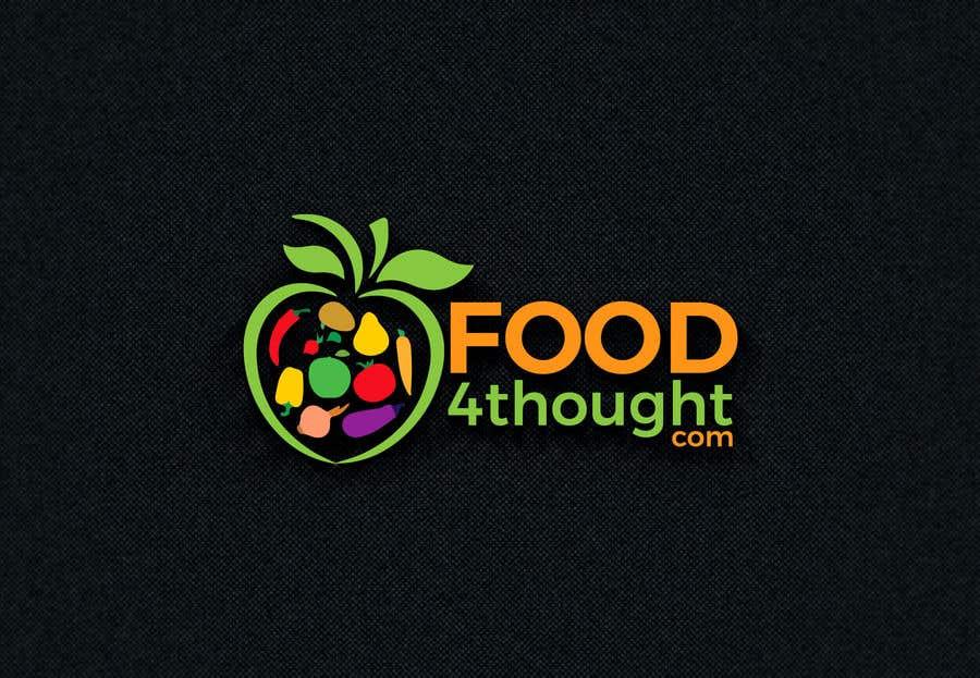 Kilpailutyö #                                        109                                      kilpailussa                                         Logo Food4thought wanted