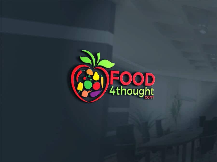 Kilpailutyö #                                        119                                      kilpailussa                                         Logo Food4thought wanted