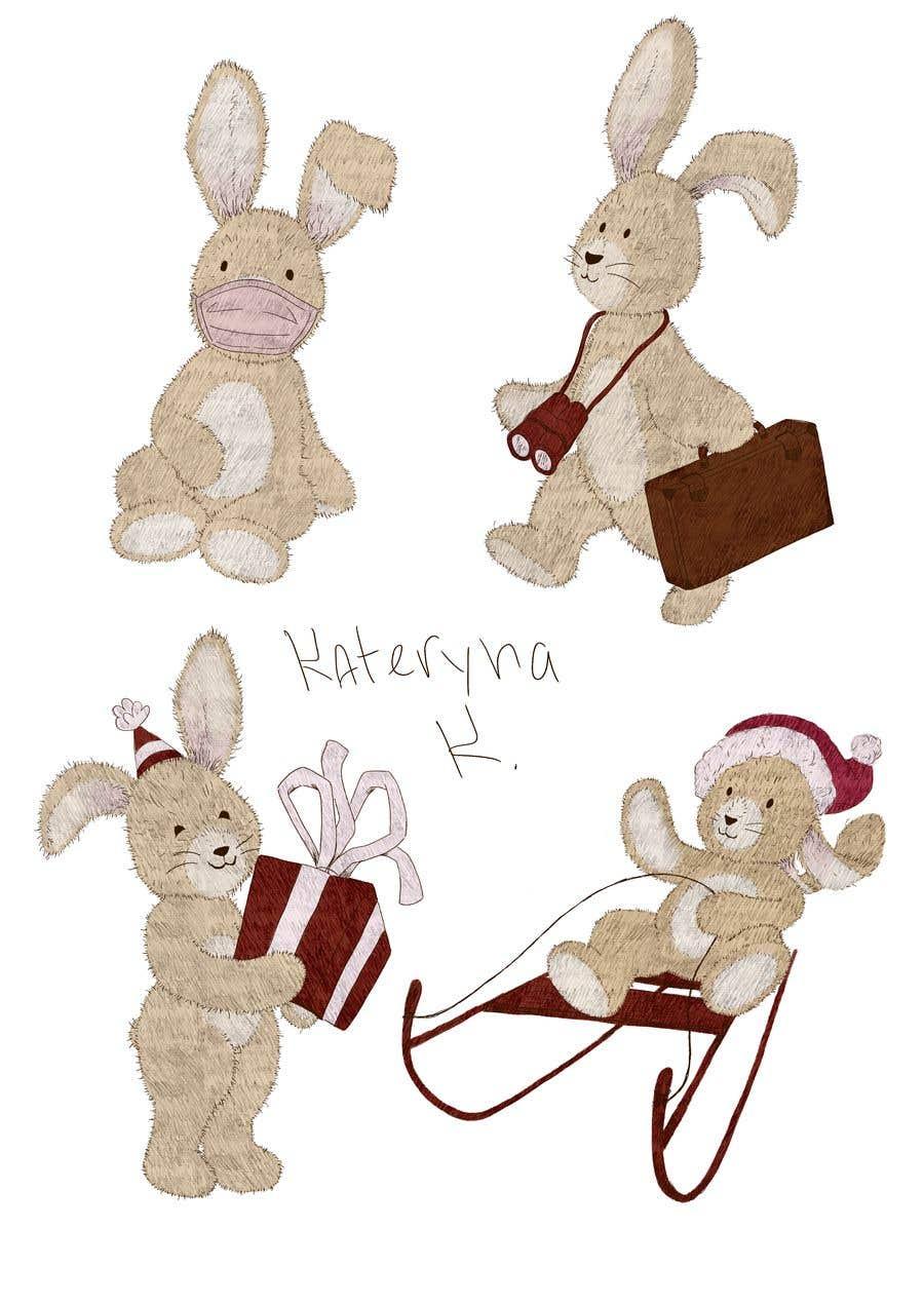 Penyertaan Peraduan #                                        18                                      untuk                                         Garanteed contest - are you good at drawing rabbits?
