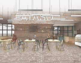 #7 for 2 renders for the interior of a restaurant by vadimmezdrin