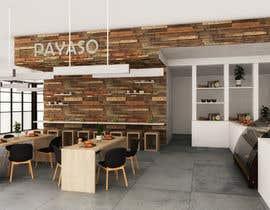 #5 for 2 renders for the interior of a restaurant by AbosamraEslam