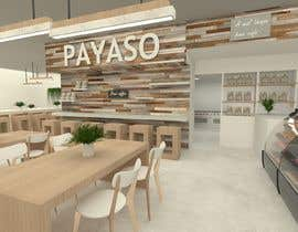 #13 for 2 renders for the interior of a restaurant by paolarsnchez