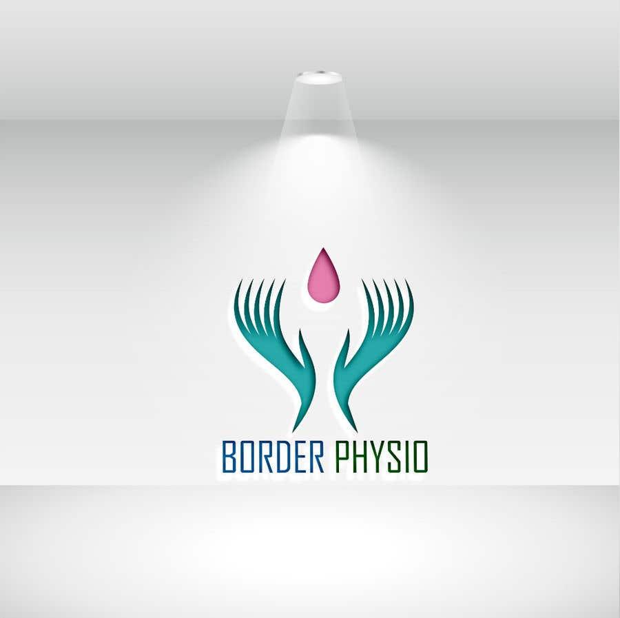 "Kilpailutyö #                                        350                                      kilpailussa                                         Design a logo for ""Border Physio"""