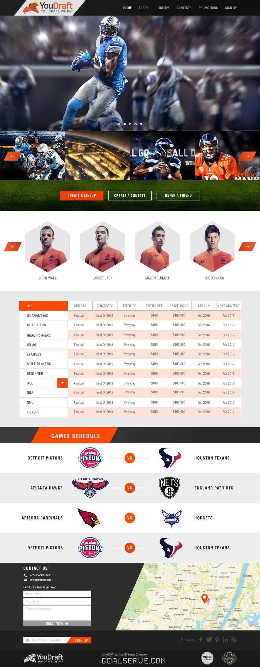 """Participación en el concurso Nro.                                        29                                      para                                         Design a Website Mockup - Homepage & """"Sliders"""" - No HTML Code Needed, Just PSD's"""