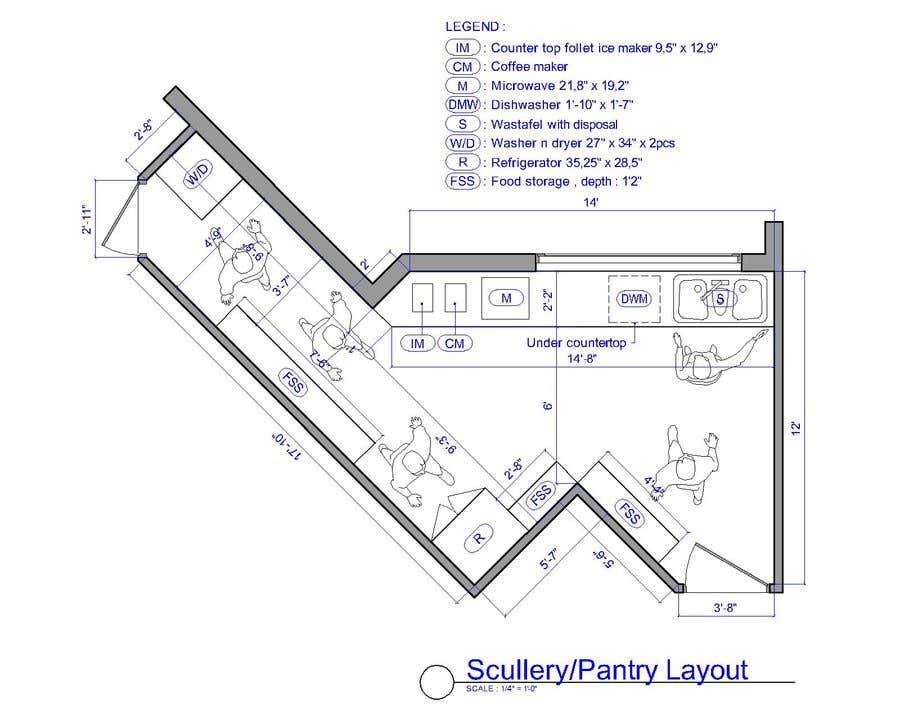 Penyertaan Peraduan #                                        31                                      untuk                                         High End Scullery/Pantry Design