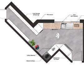 #36 untuk High End Scullery/Pantry Design oleh archvizwork