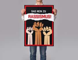 "fabtanveer tarafından Create a big Poster ""ANTI RACIST"" için no 24"