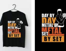 #45 for Design a tee-shirt - Day by Day - Meal by Meal -Set By Set by almamun5436