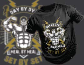 #40 for Design a tee-shirt - Day by Day - Meal by Meal -Set By Set by tsourov920
